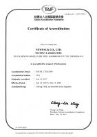 TAF/ISO 17025---2017-2020